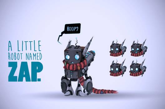 A little Robot named Zap!!!