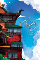 Spirited Away by ChasingArtwork