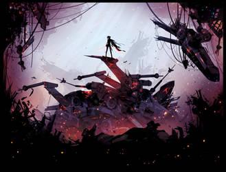 A Dark Web by ChasingArtwork