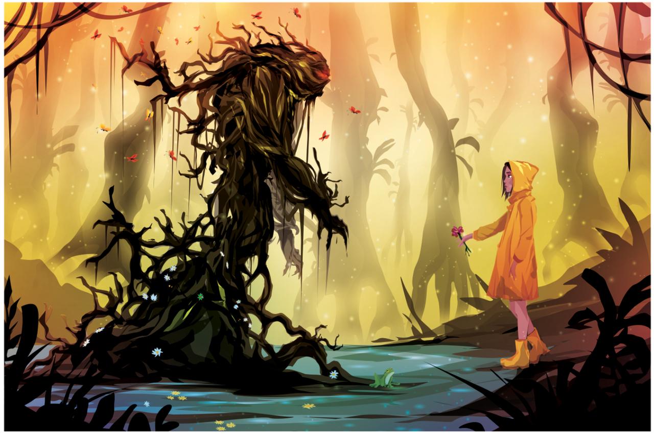 Swamp Thing by ChasingArtwork