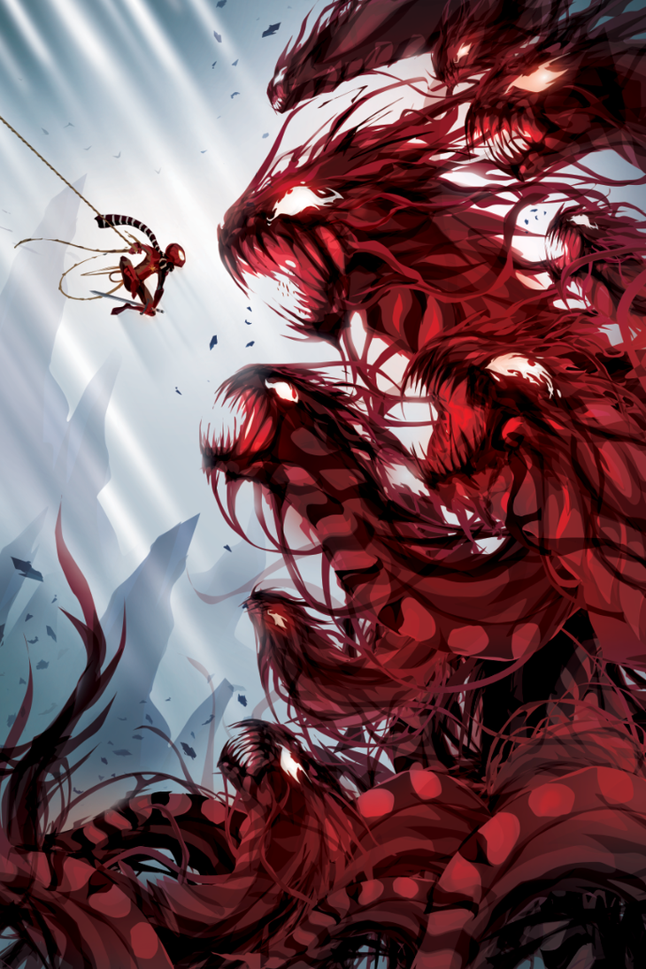The Carnage Hydra by ChasingArtwork