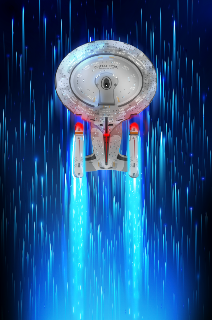 These are the voyages of the starship Enterprise by ChasingArtwork