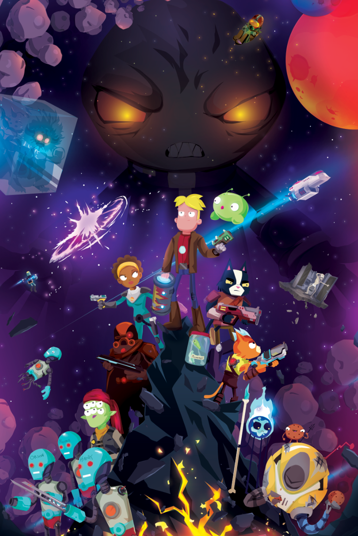 Final Space by ChasingArtwork