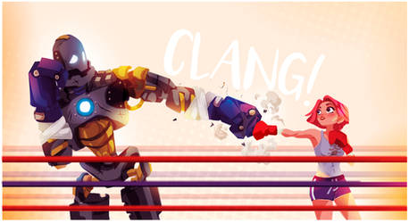 Punch to Punch by ChasingArtwork