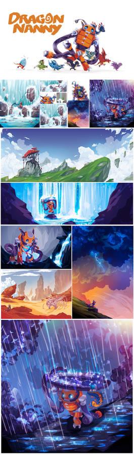 Dragon Nanny book update