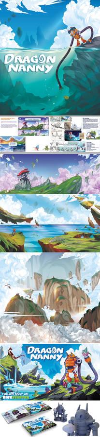 Dragon Nanny Graphic Novel
