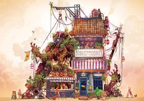 The Noodle-Bot Shop