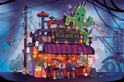 The Cactuar Ramen Shop