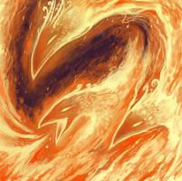Phoenix fire by LuXame