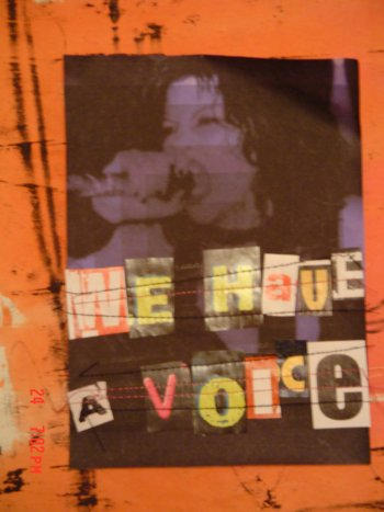 We Have A Voice Series .1.