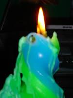 Melting Candle 1 by PrayerUnderPressure