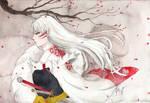 ( Fanart ) Sesshomaru sama by meowmeow10x
