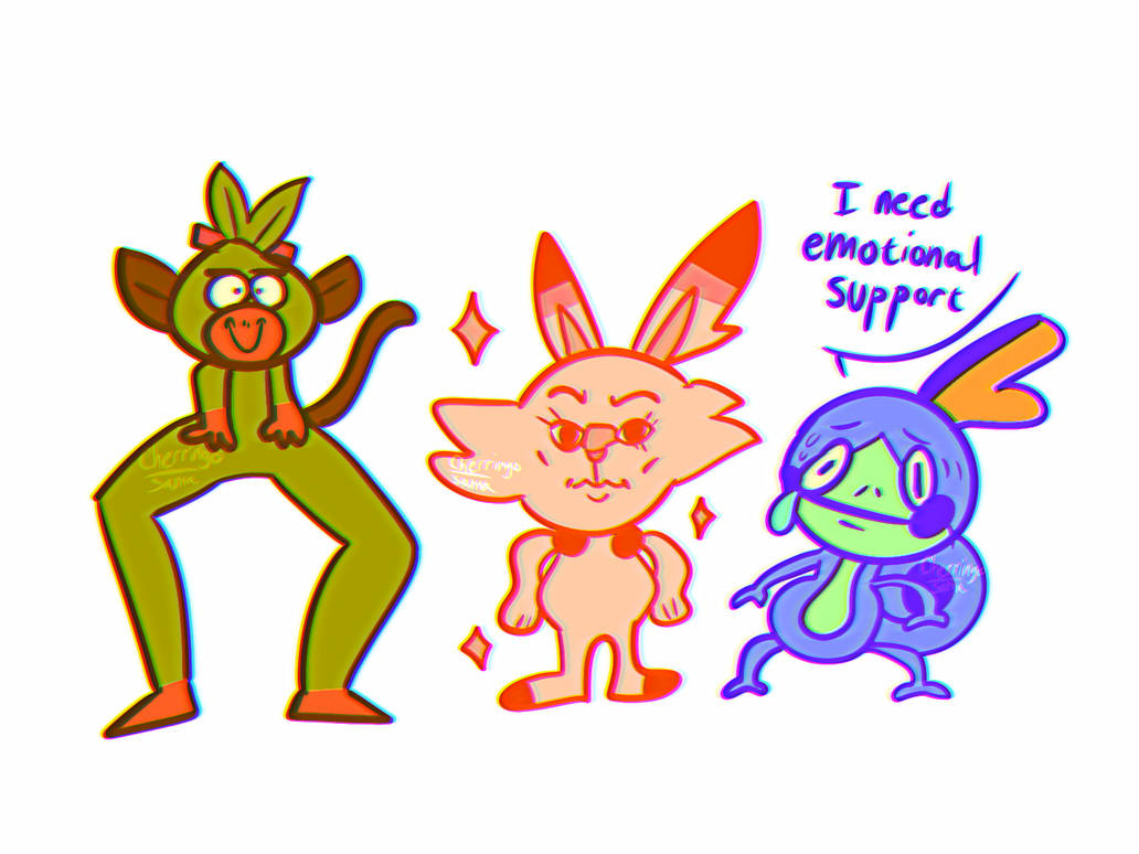 Pokemanz from Sword and Shield