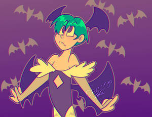 Green Haired Lilith Variant 2