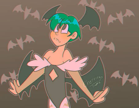 Green Haired Lilith Variant 3