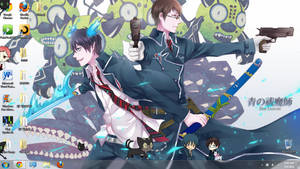 Ao No Exorcist Shimeji