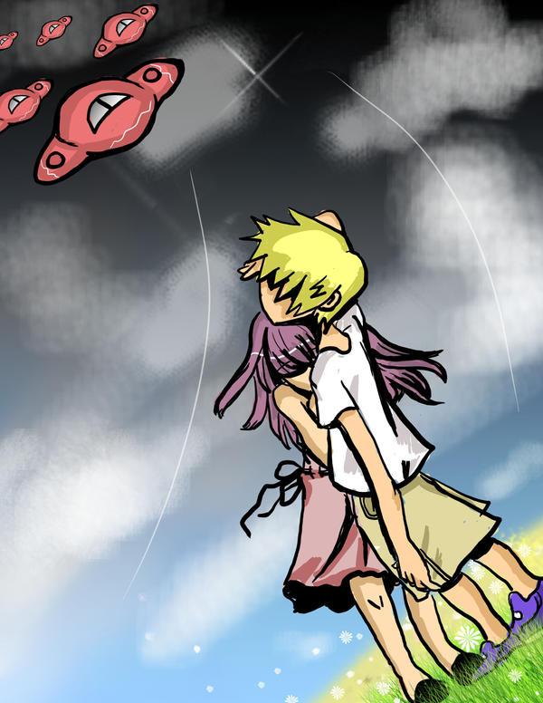hold me by Hanagasaki