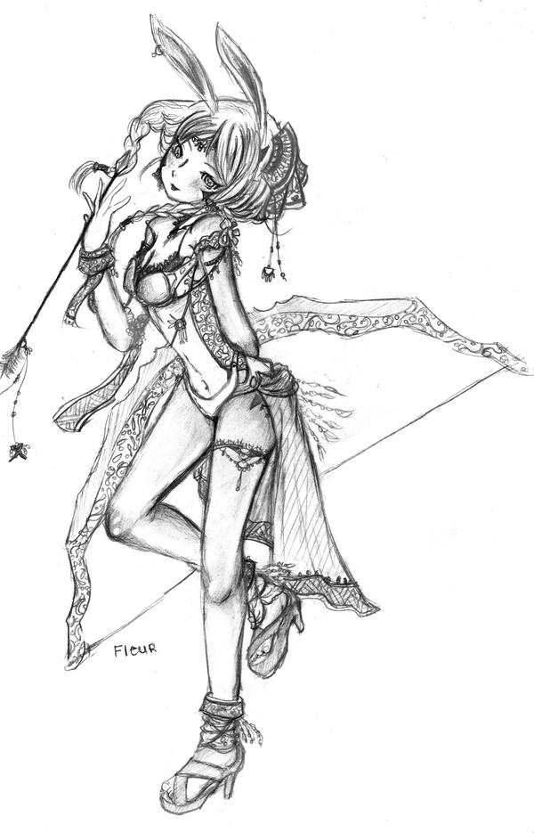 Fleur _ Archer by Hanagasaki