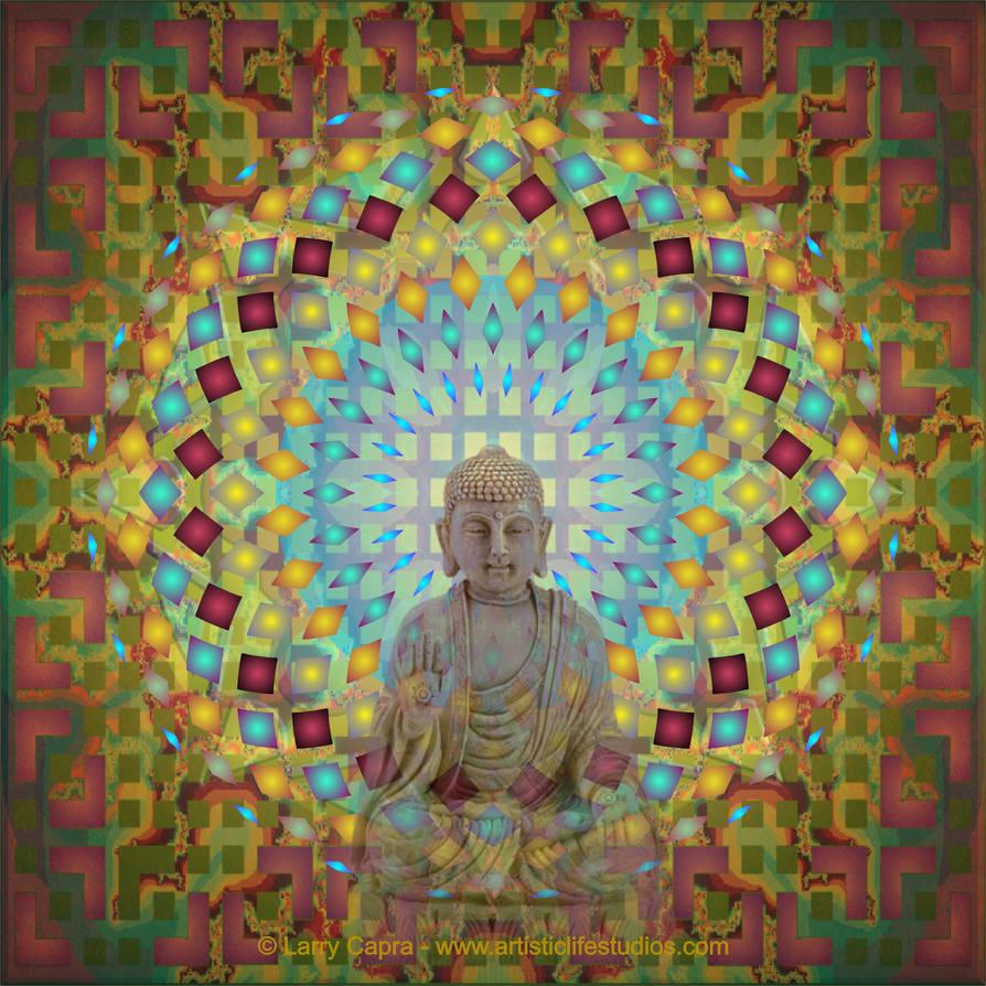 Buddha by zenabowli