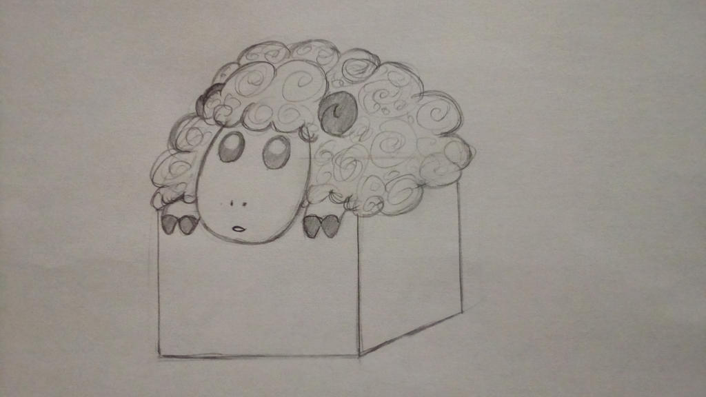 Sheep in a box by 13th-Kirin