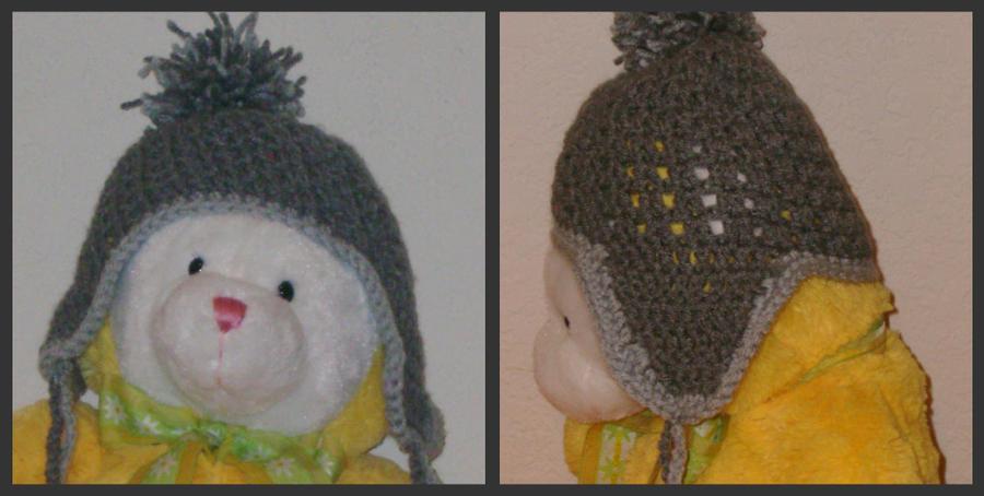 Amigurumi Earflap Hat : Crocheted Winter Earflap hat by Amigurumi-Freak on deviantART