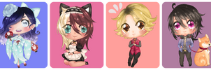 [SS] Chibis ~ by Douce-Edel