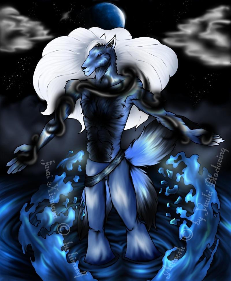 Character Jinai by Yuuki-cat