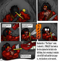 Kumbartha's 'The Slayer' comic by Farel13