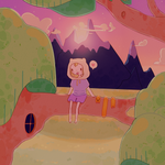 Adventure time - style experiment