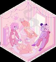 fullbody commission by lemonscribs