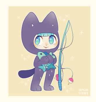 Kitty by lemonscribs