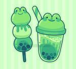 Froggy snacks