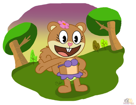 Sandy -  Style Happy tree friends.