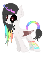 Darkbow  Offical Debut by Kayla-bunny-pony