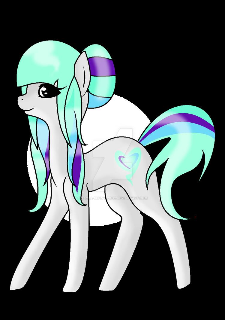 .:Aqua Glimmer:. - Different Shading Style by Kayla-bunny-pony