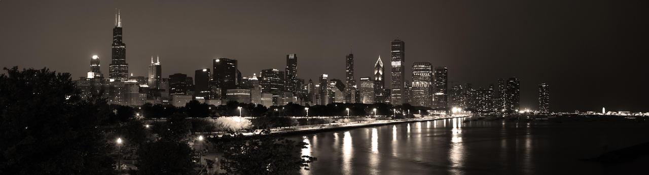 Chicago Skyline 2 by Rana-Rocks