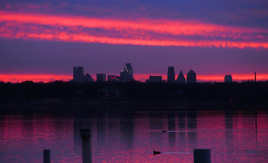 Dallas Skyline by Rana-Rocks