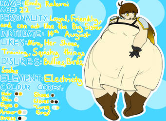 Emily Reference Sheet by ChubbyChub-Chub