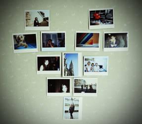 Polaroid heart by wonies