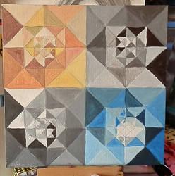 Geometrique One progress by wonies