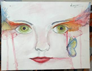 butterfly eyes by wonies