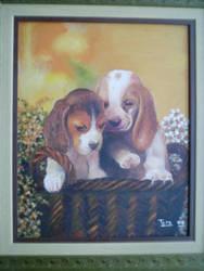 dogs by aryaellesmera