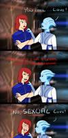 Mass Effect - Secret by snizabelle