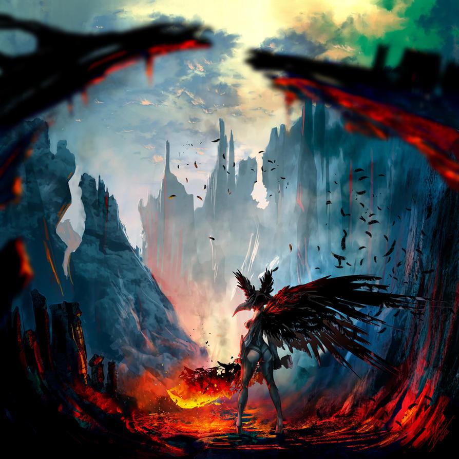 Chaos Sword by tommasorenieri