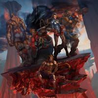 Shadowloo Showdown V 2014 Official Poster by tommasorenieri