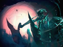 Wake up, Spider Queen by tommasorenieri