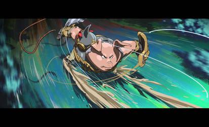 The Biscuit Sword - Frame 11 The bad pig