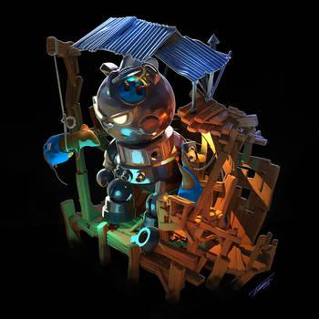 Building the Trojan Cat by tommasorenieri