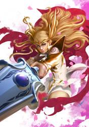 New She Ra! For the honor of Grayskull! by tommasorenieri