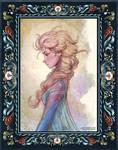 Elsa portrait, fanart 2018